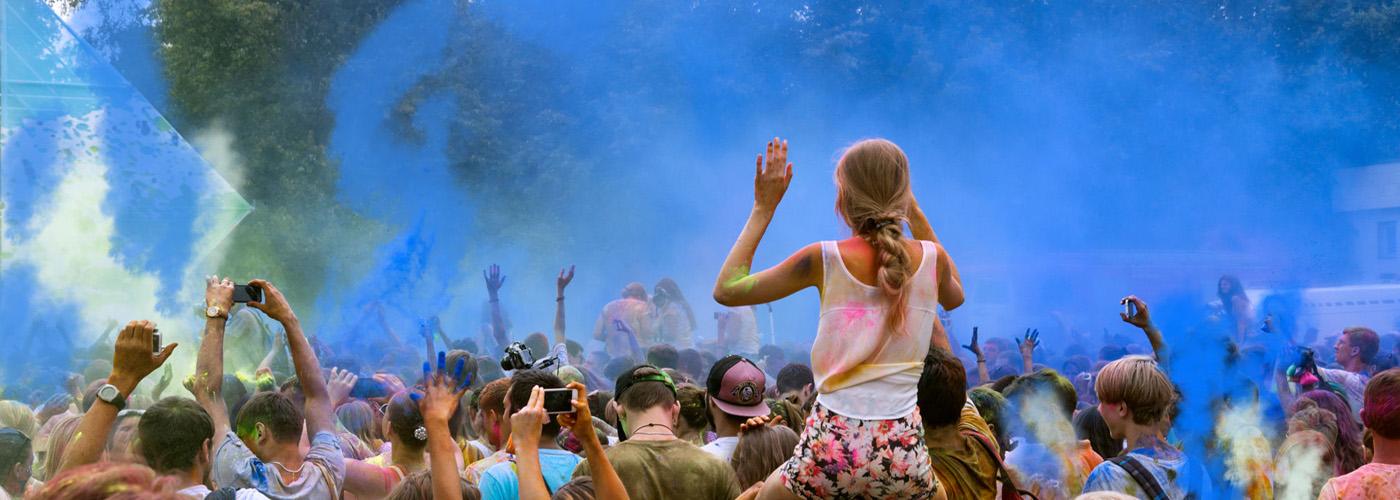 Energie pro festivaly, koncerty a jiné OA akce
